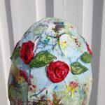 flower egg sculpture