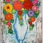 flower art work