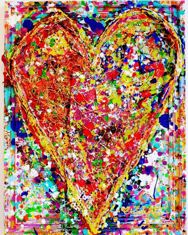Heart Art Charlotte Olsson Goodhearted