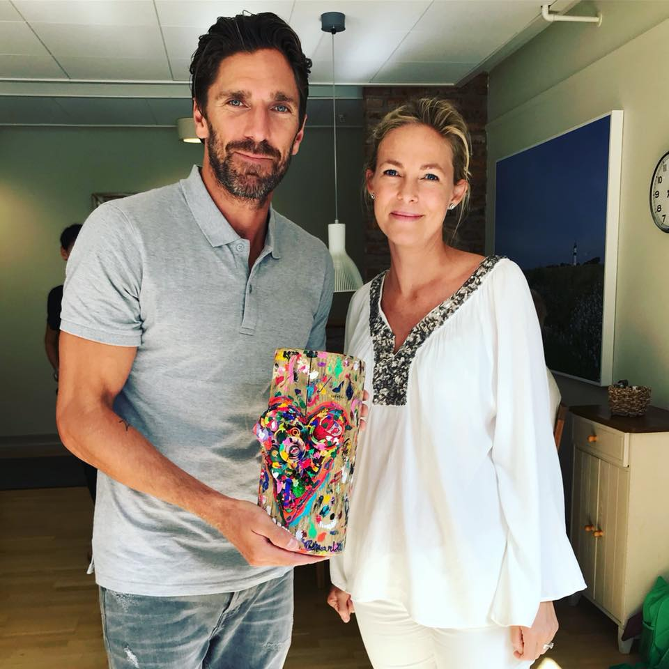 Henke Lundqvist And I Share The Passion For Helping Out And Doing