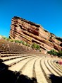 Seating over 9.000 people, the Red Rock Open Air Theater is famous for its wonderful acoustic and once-in-a-lifetime musical experiences. The huge red rocks on each side (ship -and creation rock) create a powerful and impressive surrounding for the magic.