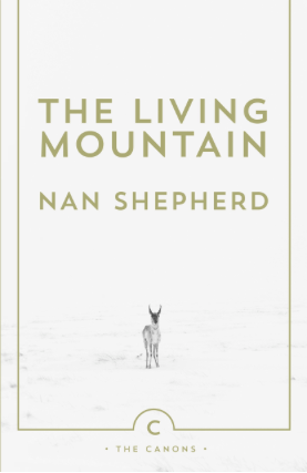 The Living Mountain Nan Shepherd book cover