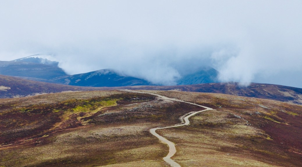 Nan Shepherd road to knowledge in the Cairngorms
