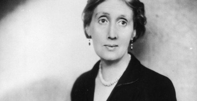 Virginia Woolf's writing room headshot b/w