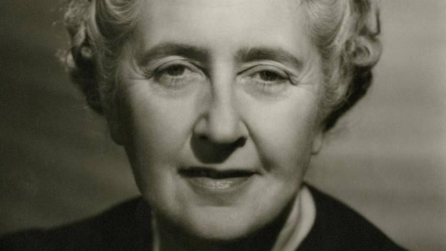 Where Agatha Christie wrote: head shot b/w