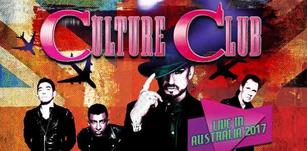 Culture Club Australia 2017 Tour