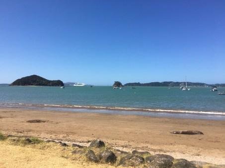 Paihia Beach, where I'm staying