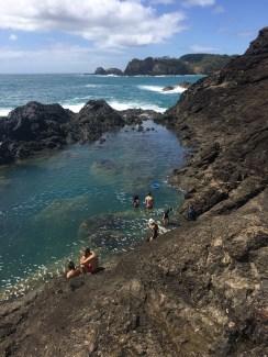Mermaid Rock pools, Matapouri