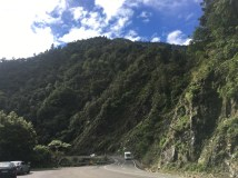 The gorge in the national park