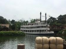 A river boat ride