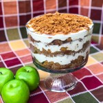 Caramel Apple Cheesecake Trifle