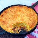Skillet Chicken Tamale Pie