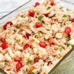Baked Caprese Chicken Risotto