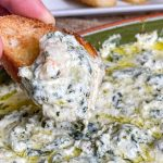 Shrimp Scampi Spinach Dip