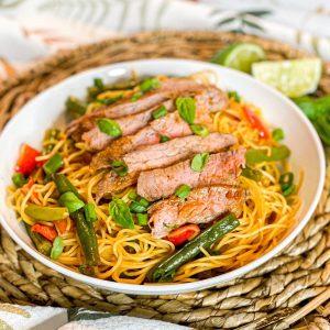 Thai Steak & Noodle Bowl