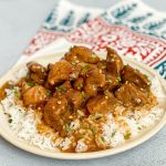 Slow Cooker Sweet & Spicy Pork