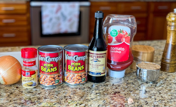 The Best Baked Beans ingredients