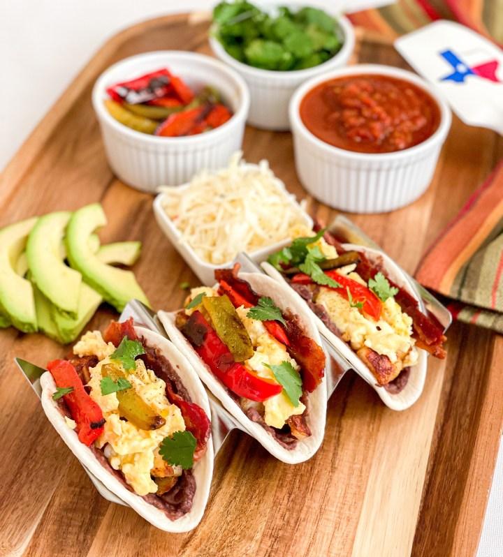 Tex-Mex Breakfast Tacos