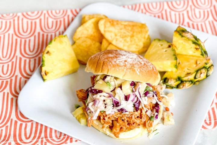 Hawaiian BBQ Chicken Sandwiches