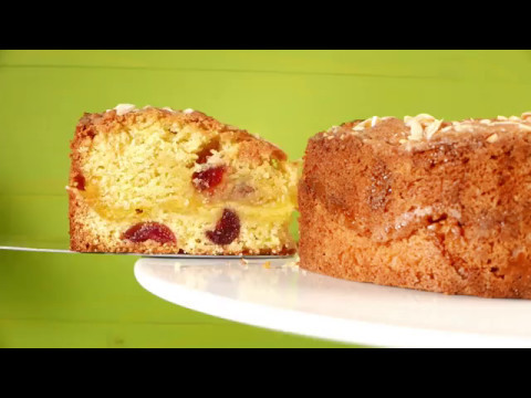 Marzipan And Cherry Cake Charlotte S Lively Kitchen