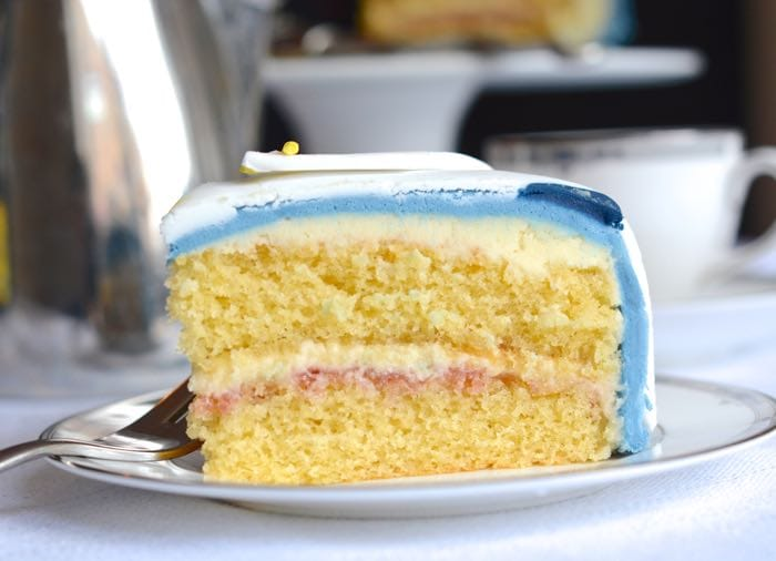 One Layer Sponge Cake Recipe