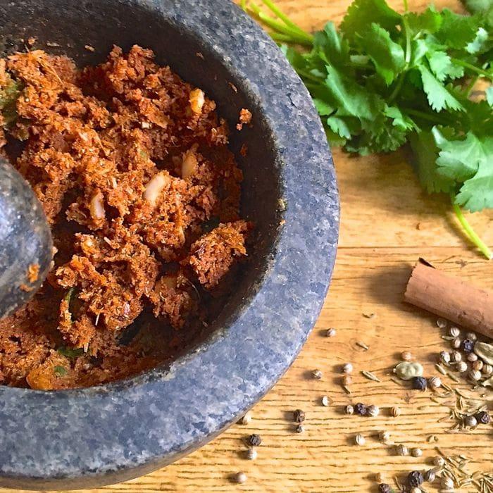 Korma curry paste recipe