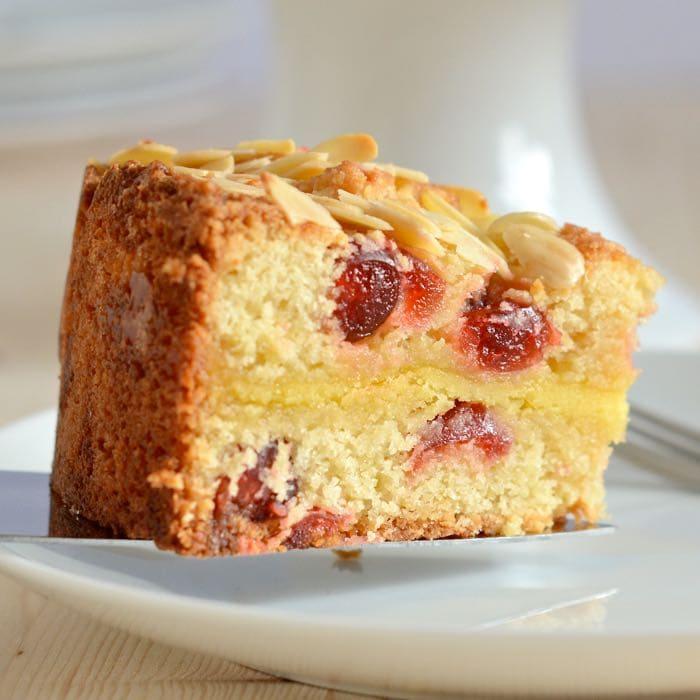 Cherry And Marzipan Cake Recipe