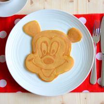 Mickey Mouse Pancake Art