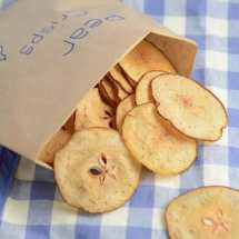 Pear crisps packet