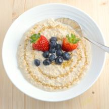 overnight oats above