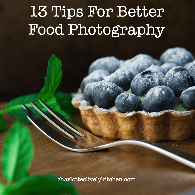 Tips for better food photography