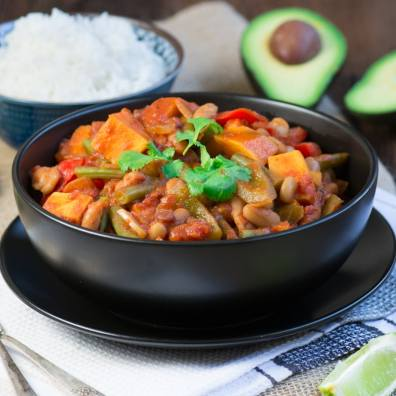 Three Bean and Vegetable Chilli 3