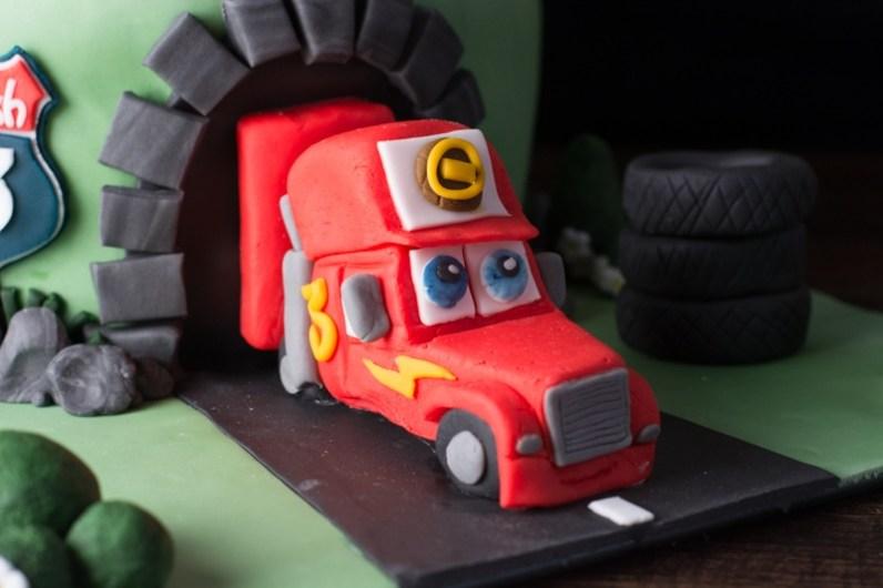 cars cake 3