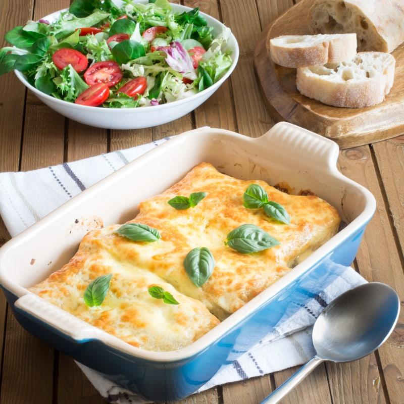 Mediterranean Vegetable Lasagne 5