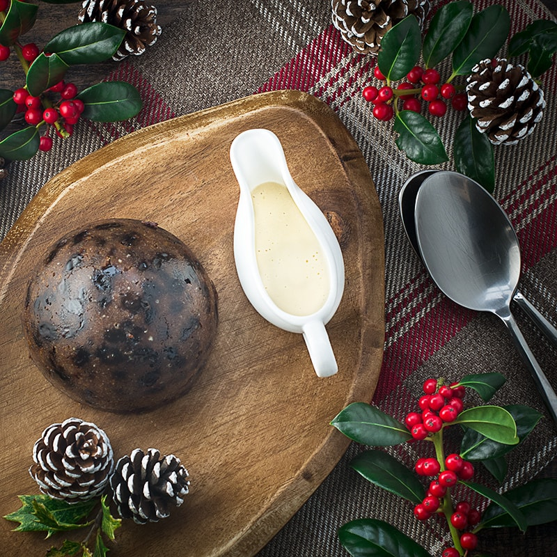 Looking for an alternative to brandy sauce or brandy butter with your Christmas pudding? Then try this amazing brandy and orange custard (with a cheats version if you don't want to spend too much time in the kitchen!).