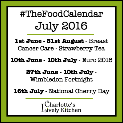 thefoodcalendar july 2016