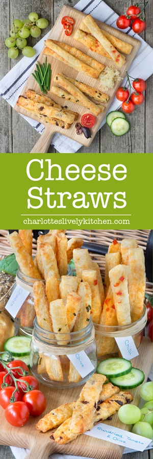 The best cheese straws you'll ever taste with homemadeflaky pastry and delicious Comté cheese. Plus three extra flavours - chilli, chive and sun-dried tomato & olive.