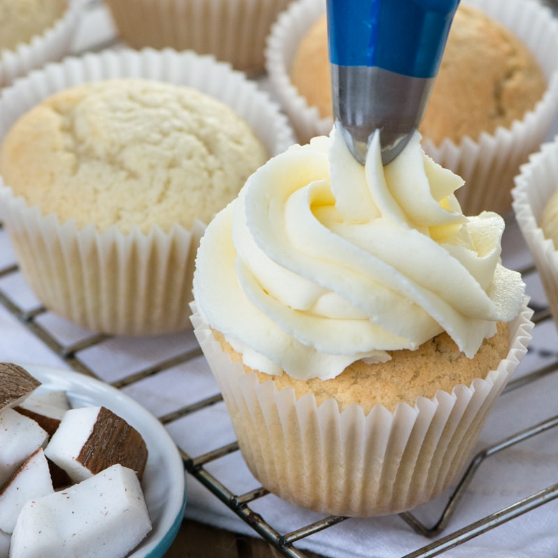 how to make coconut buttercream