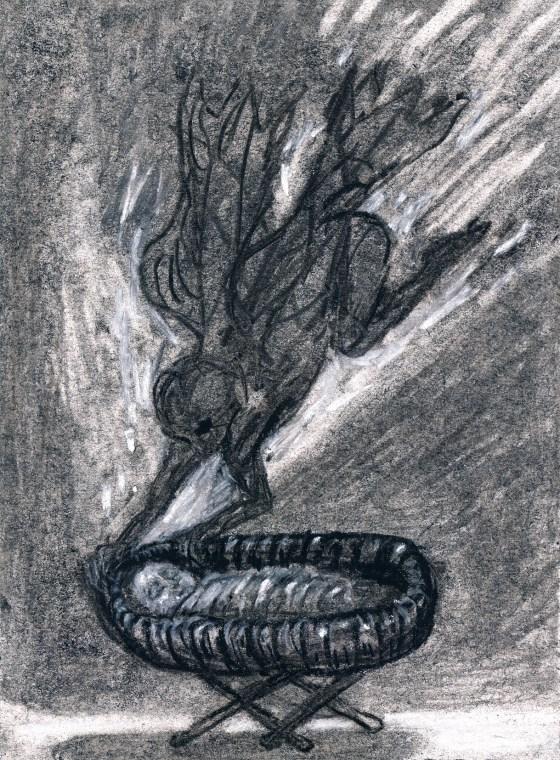 Drawing by Artist Charlotte Steel