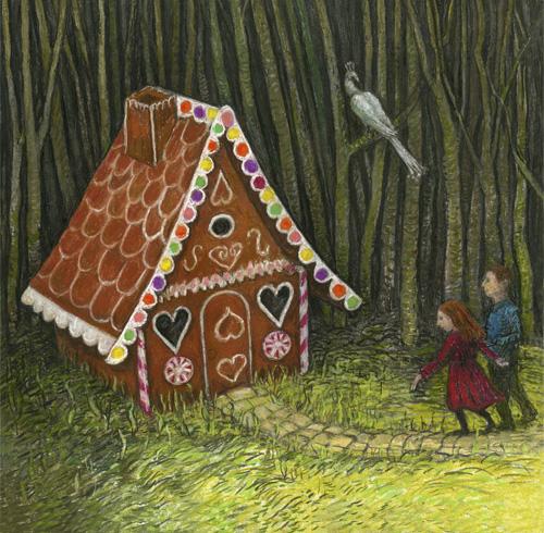 Hansel and Gretel Illustrations – Charlotte Steel