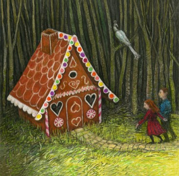 Hansel-Gretel-GingerbreadHouse-Charlotte Steel