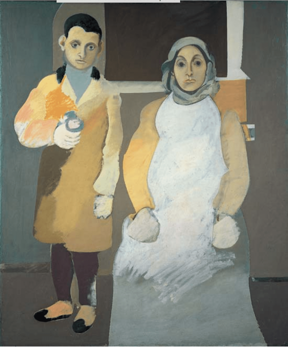 The Artist and His Mother 1926-c. 1936
