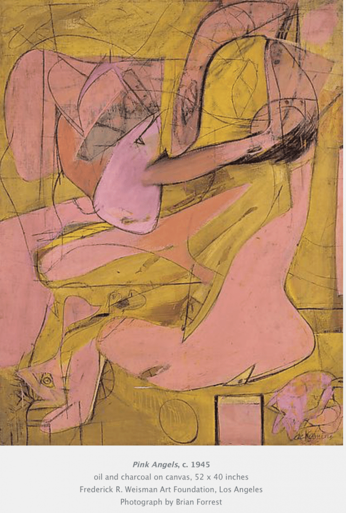 Pink Angels Willem de Kooning