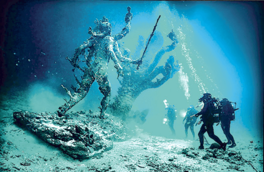 Damien Hirst's 'Treasures from the Wreck of the Unbelievable'