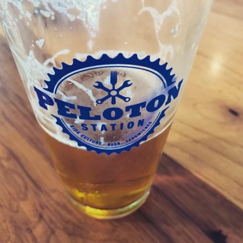 Peloton beer