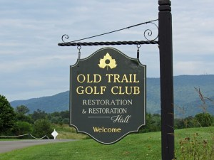 Old Trail Golf Club sign