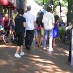Virginia Gardner, Charlottesville Downtown