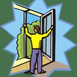 cartoon of pre-listing home inspection