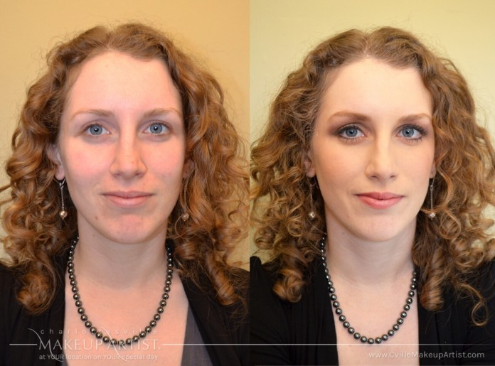 Real Before After S Charlottesville Makeup Artist Llc