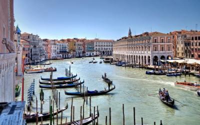 Venetië, de stad van de vele gondels